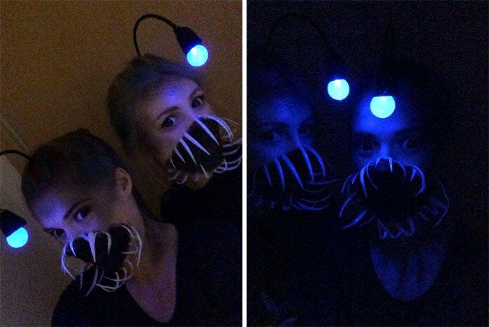 Halloween Costumes anglerfish