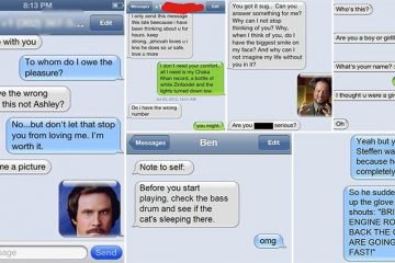 Hilarious Text Message Conversations