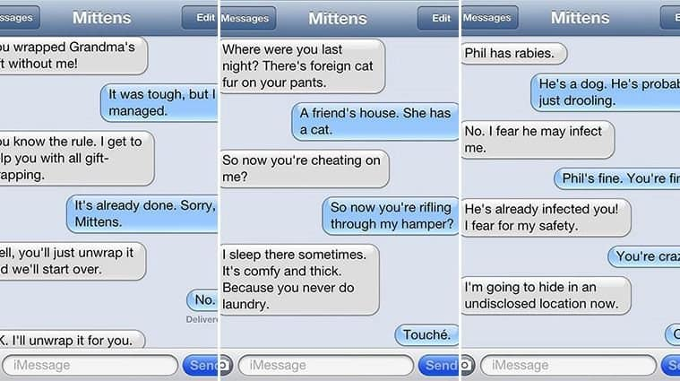 Hilarious Texts Loaded With Cat-titude