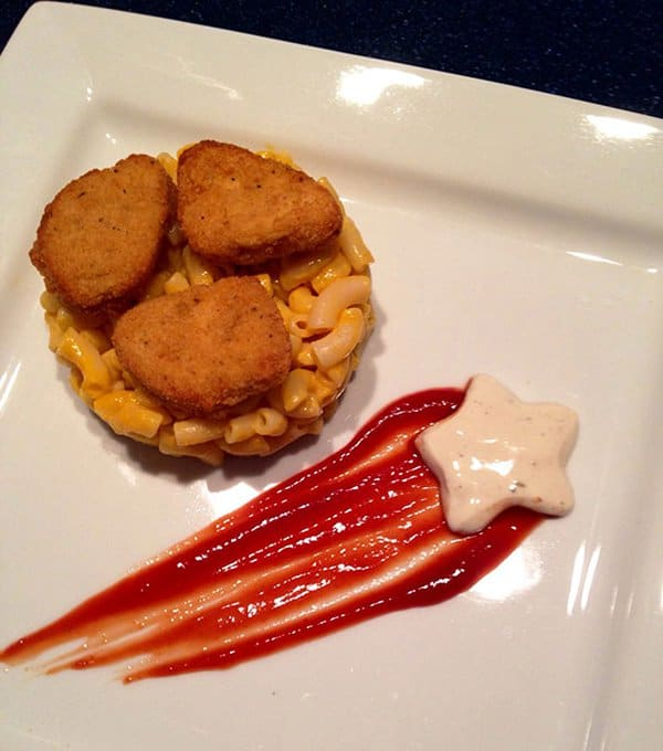 Hilarious Uncles gourmet chicken nuggets and mac and cheese