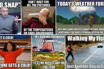 Hilariously Accurate Images About The Weather That People Can Relate To Worldwide