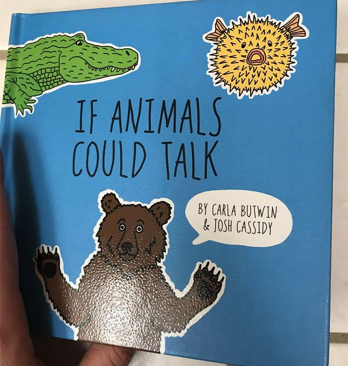 Hilariously Shocking Adult Book if animals could talk