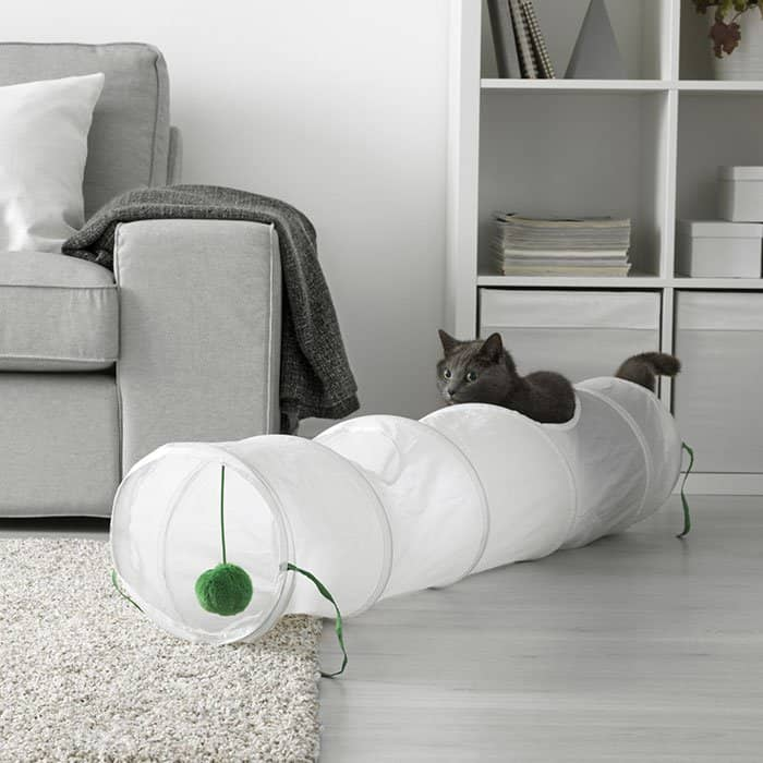 IKEA Pet Furniture Collection cat tunnel