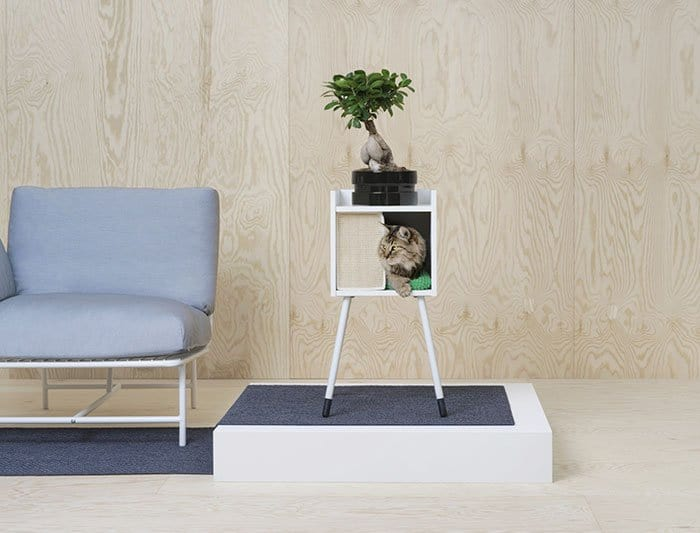 IKEA Pet Furniture Collection shelf with cat bed