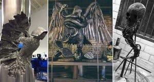 Incredible Sculptures Made Of Welded Metal