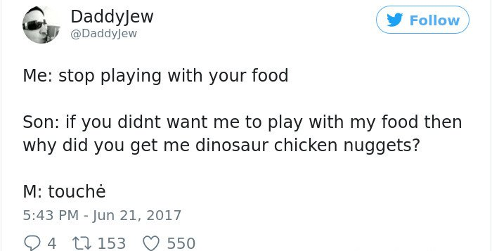 Mealtimes With Kids dinosaur nuggets