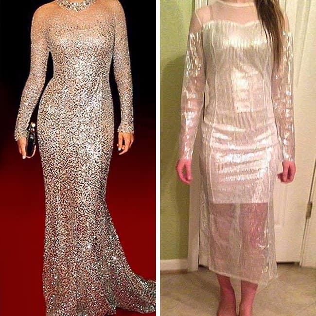 Negative Side Of Online Shopping dress fail