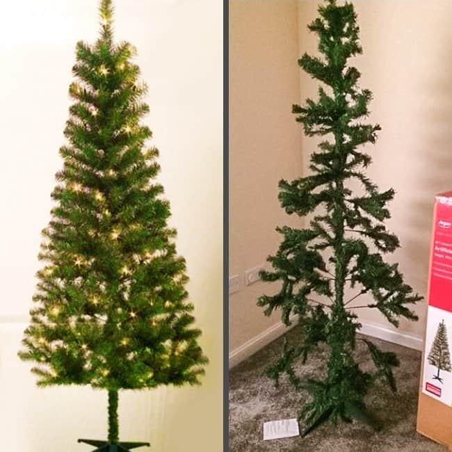 Negative Side Of Online Shopping sad christmas tree