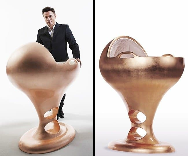 Outrageously Expensive Items egg shaped crib