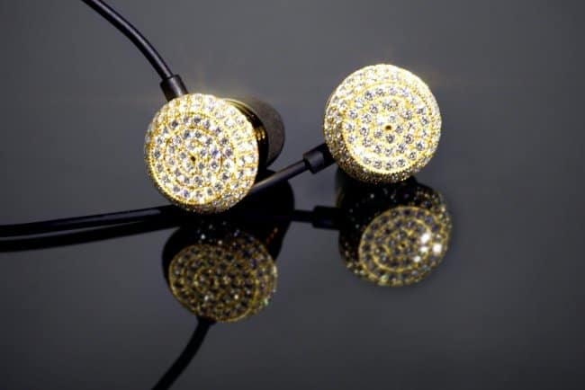 Outrageously Expensive Items gold earphones