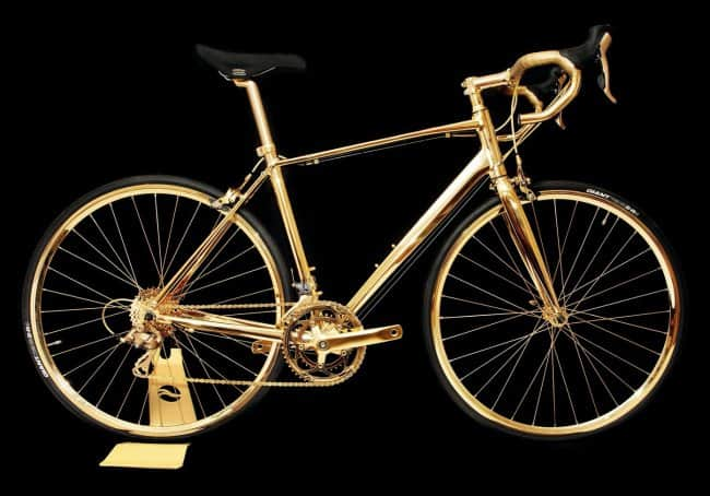 Outrageously Expensive Items golden bike