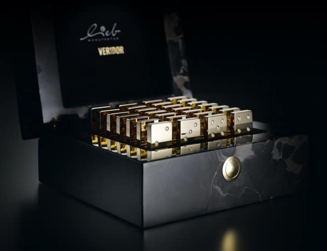 Outrageously Expensive Items golden dominoes