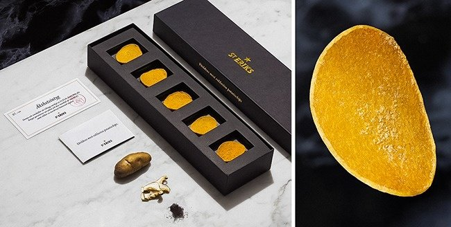 Outrageously Expensive Items stainless potato chips