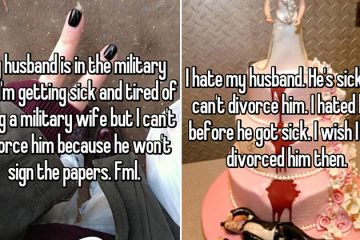 People Reveal Why They Want To Divorce