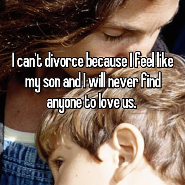 People Reveal Why They Want To Divorce never find anyone