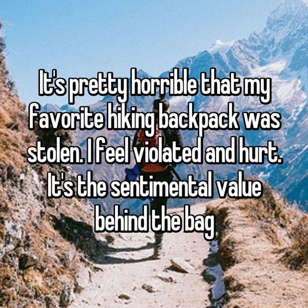 Reveal The Most Priceless Things They Have Lost backpack