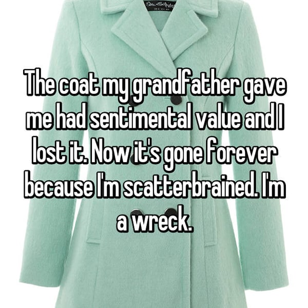 Reveal The Most Priceless Things They Have Lost coat