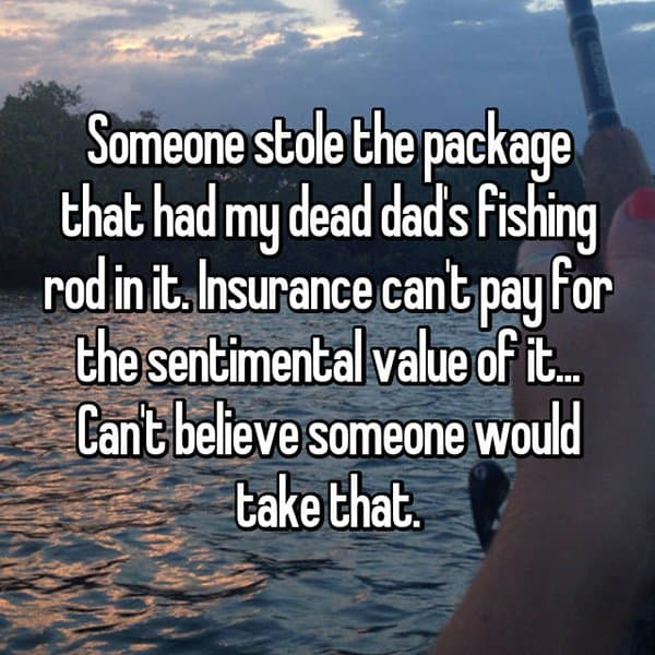 Reveal The Most Priceless Things They Have Lost fishing rod