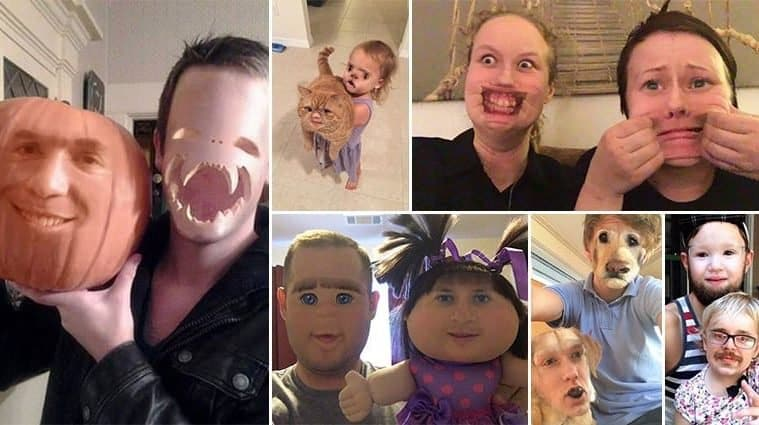 Terrifying Face Swaps