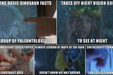 Things That Don't Add Up About Jurassic Park