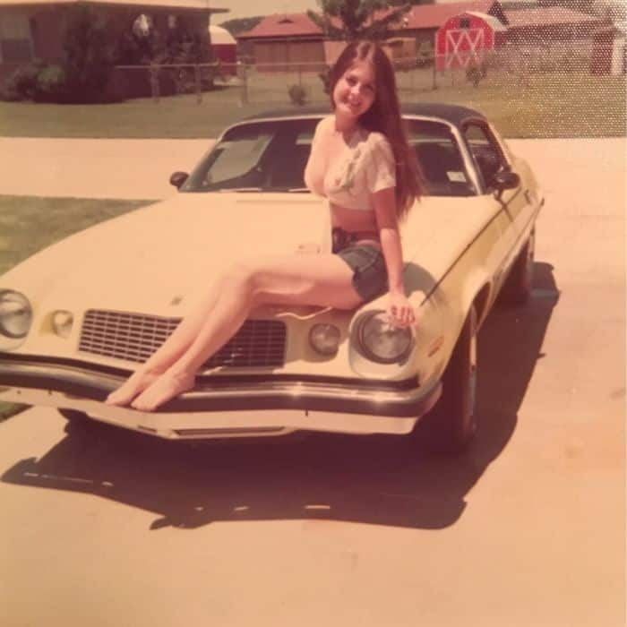 Times Our Parents Were Cooler mum with camero