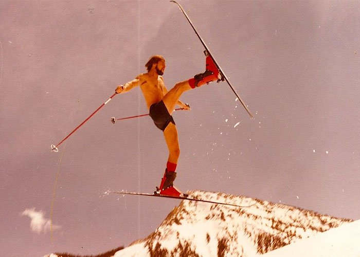 Times Our Parents Were Cooler skiing