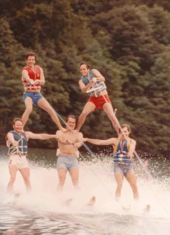 Times Our Parents Were Cooler water skiing