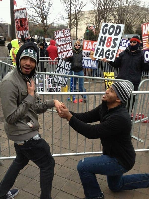 Times People Hilariously Trolled Protesters proposal