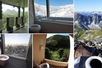 Toilets With The Most Incredible Views