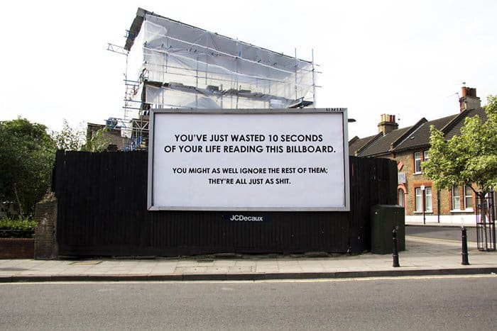 UK Streets Are Filled With Sarcasm wasting your life