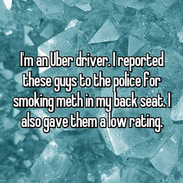Uber Drivers Reveal The Worst Customers smoking