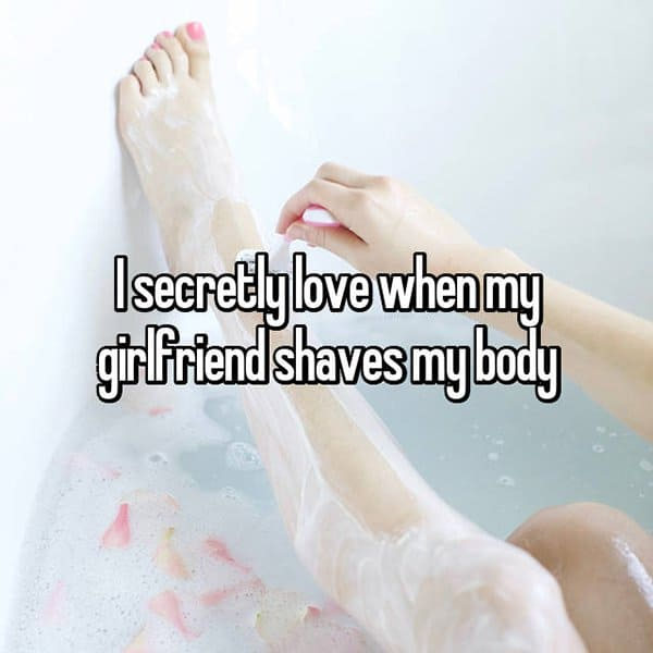 Weird Things Guys Love About Their Girlfriends shaves my body