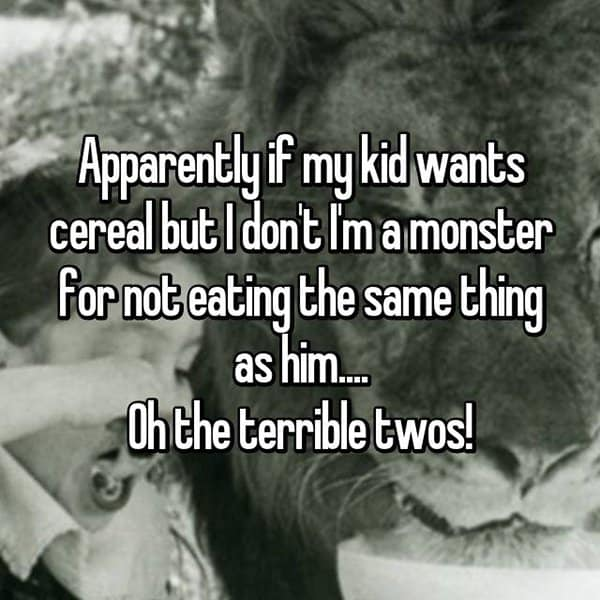 Why The Terrible Twos Are The Worst cereal