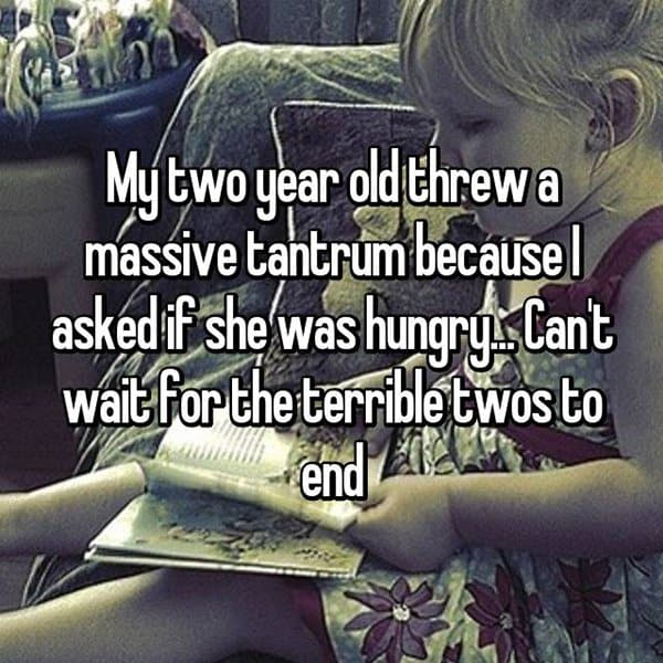 Why The Terrible Twos Are The Worst hungry