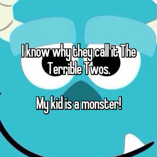 Why The Terrible Twos Are The Worst monster