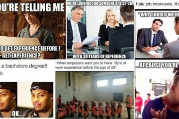 Accurate Images That Show How Ridiculous Job Hunting Is