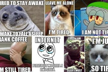 Accurate Memes About Being Tired That We Can All Relate To