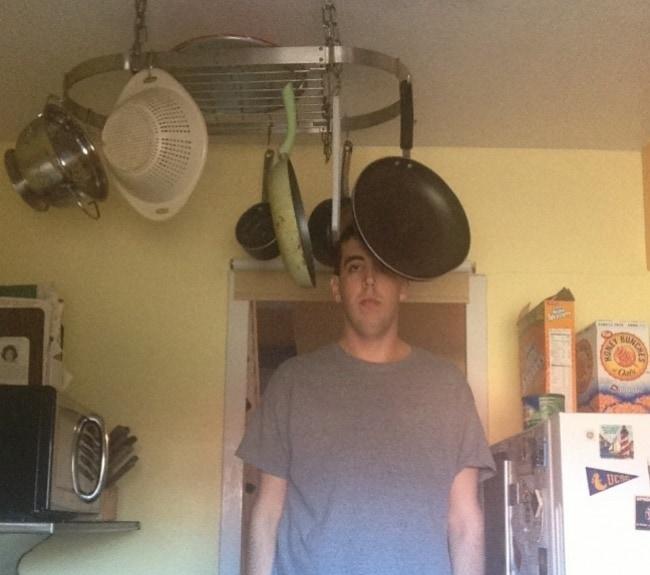Amusing Photos Tall People hazards