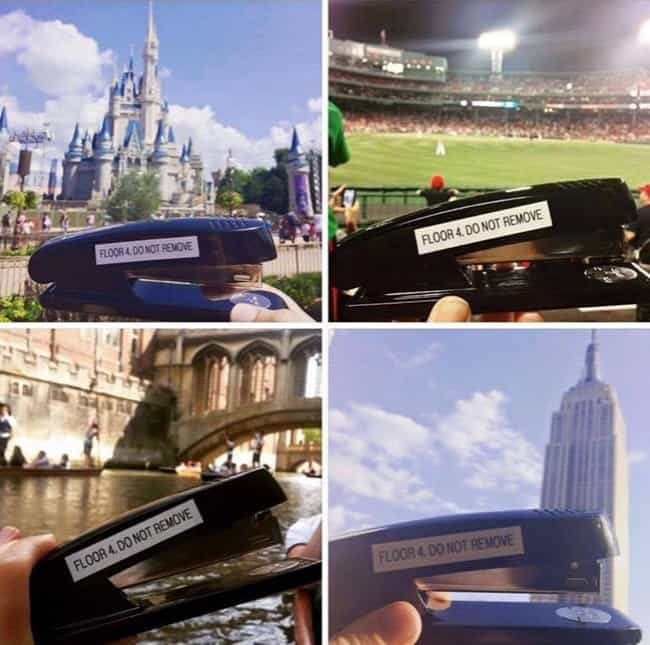 Anarchists Who Do Not Care stapler