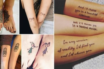 Awesome Tattoo Ideas For Sisters