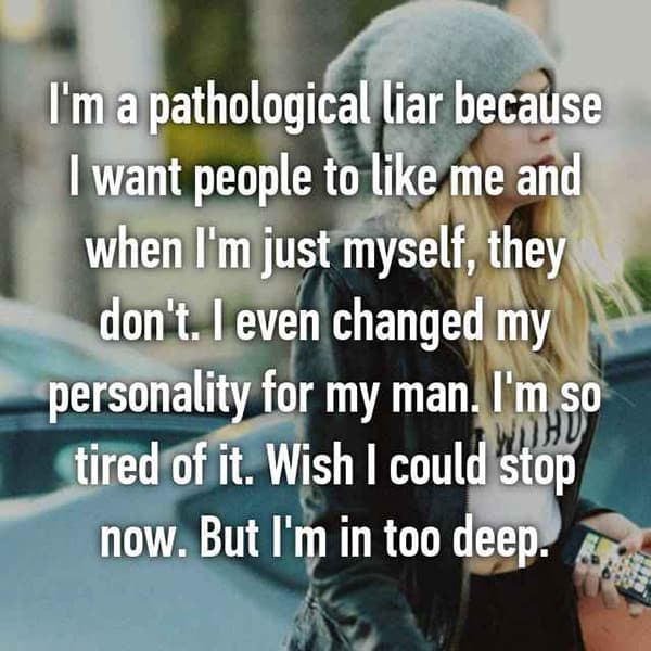 Being A Pathological Liar in too deep