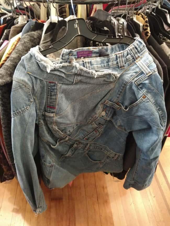 Bizarre Clothing Items denim top