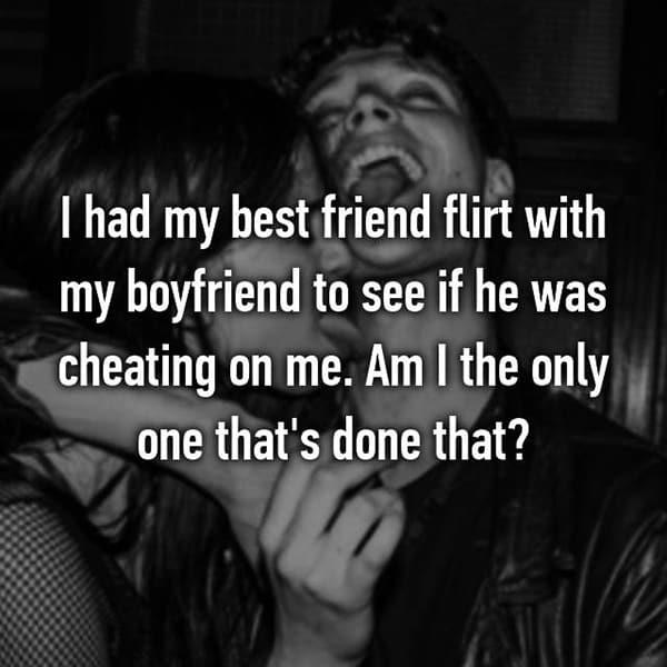 Catch Their Partners Cheating best friend flirt