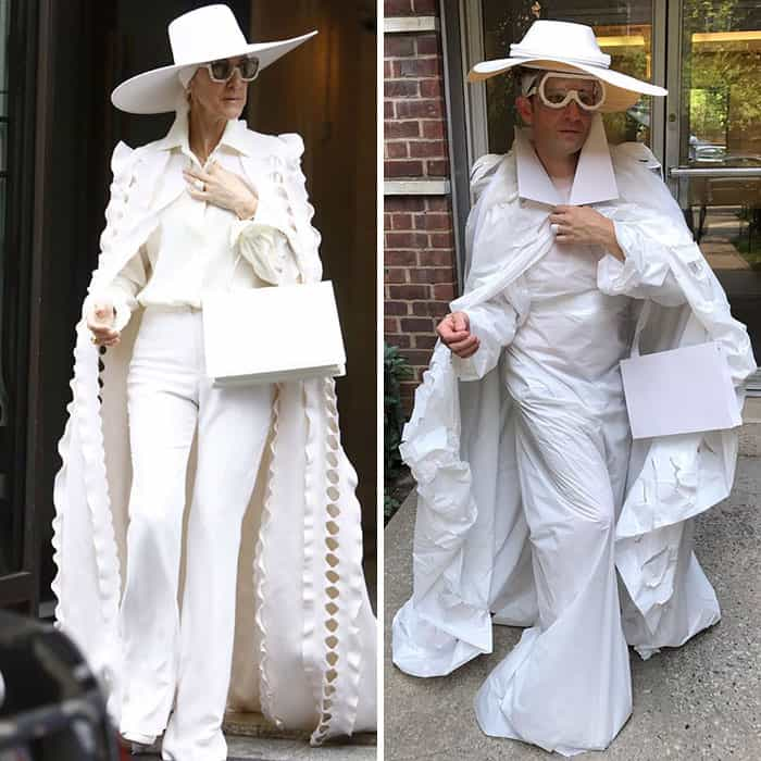 Celebrity Outfits tom lenk celine dion