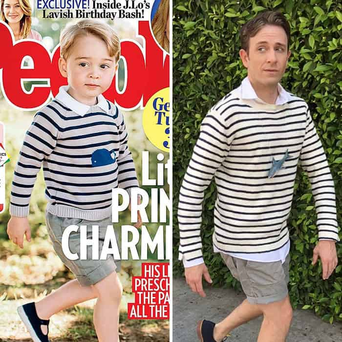 Celebrity Outfits tom lenk prince george