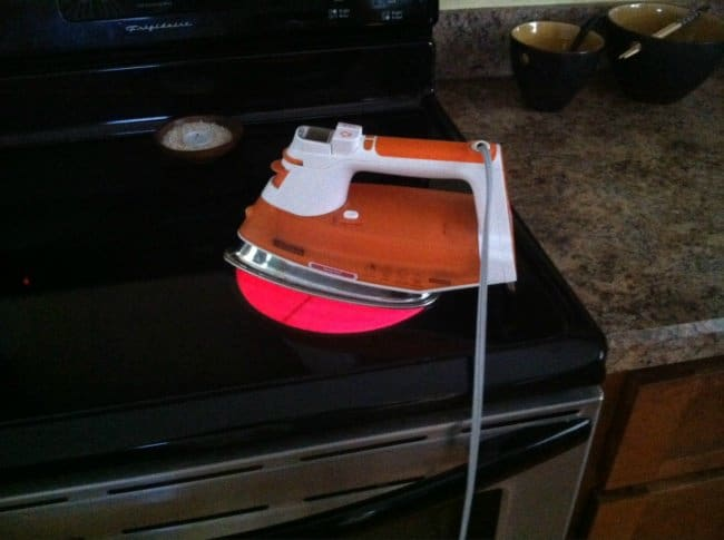 Clever Life Hacks if your iron breaks down