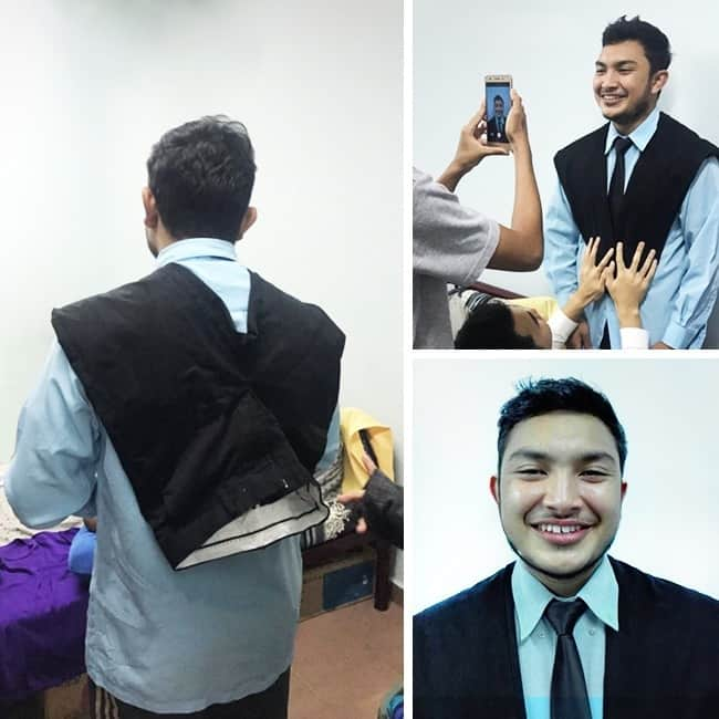 Clever Life Hacks jacket formal photo trouserrs
