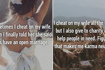 Confessions From Cheating Spouses