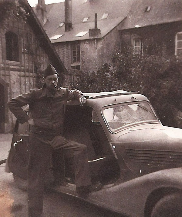 Cool Grandparents stole car from nazis
