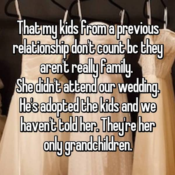 Crazy Things Mothers-In-Law Said kids dont count